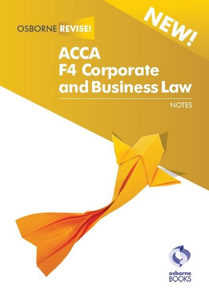 ACCA F4 Corporate and Business Law (CL) UK