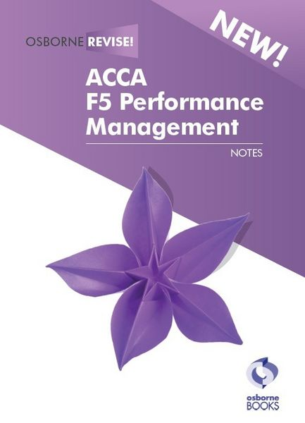 ACCA F5 Performance Management (PM)