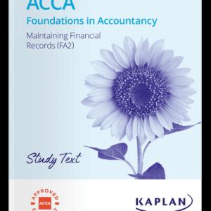 FA2 Maintaining Financial Records