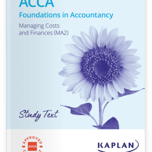 MA2 Managing Costs and Finance
