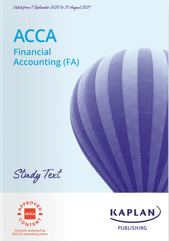 F3 Financial Accounting (FA)