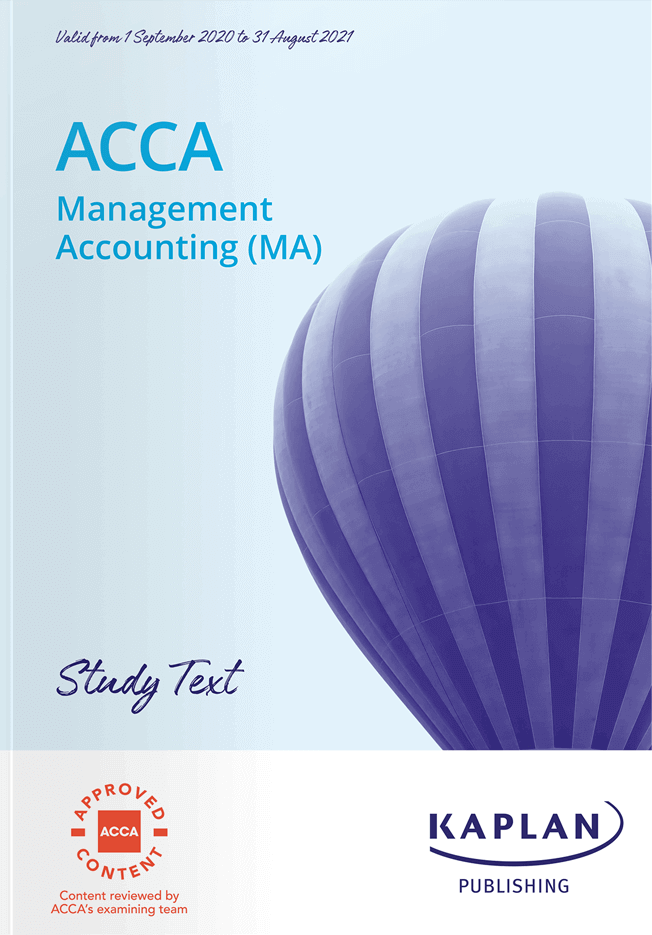 F2 Management Accounting (MA)