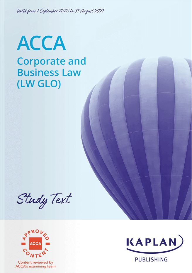 F4 Corporate and Business Law (LW-ENG)