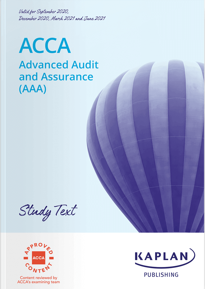 P7 Advanced Audit and Assurance (AAA)