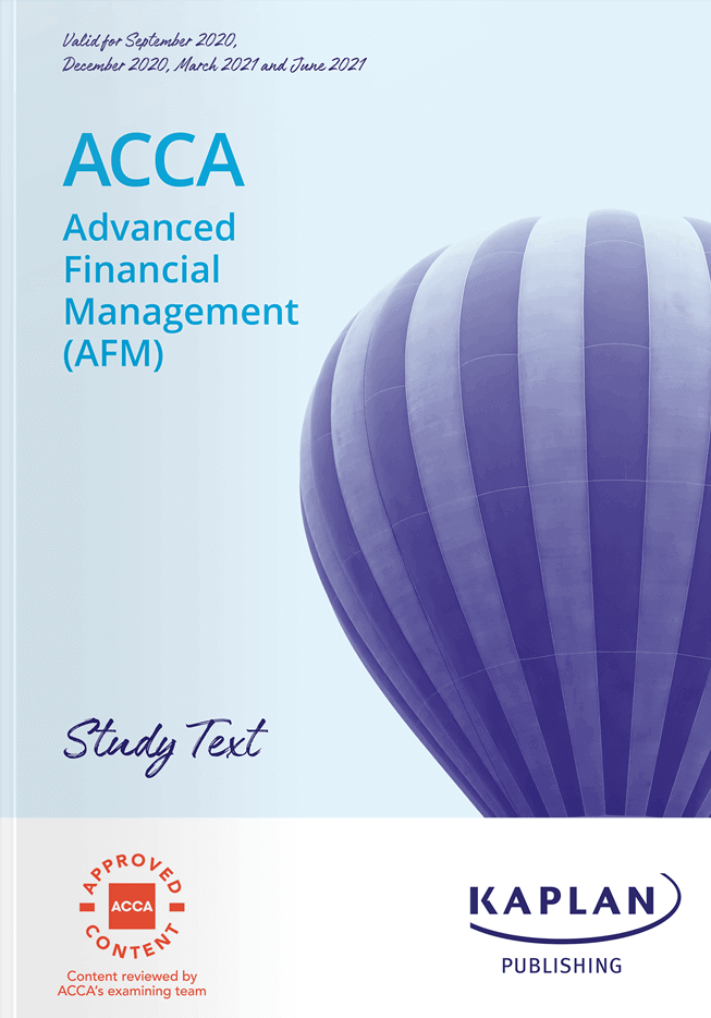 P4 Advanced Financial Management (AFM)